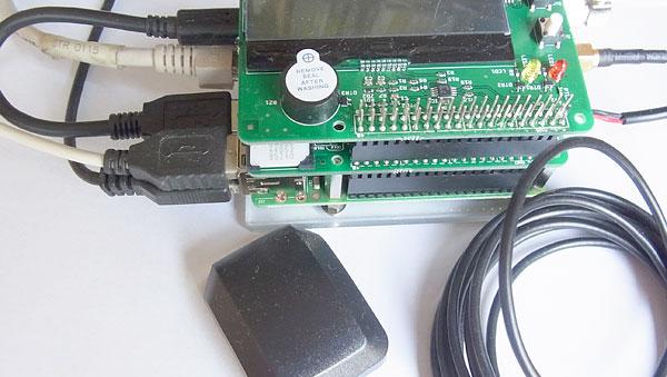 anyPiとGPSアンテナの接続
