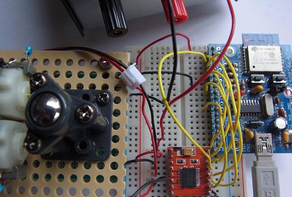 ESP8266とTB6612FNGの接続
