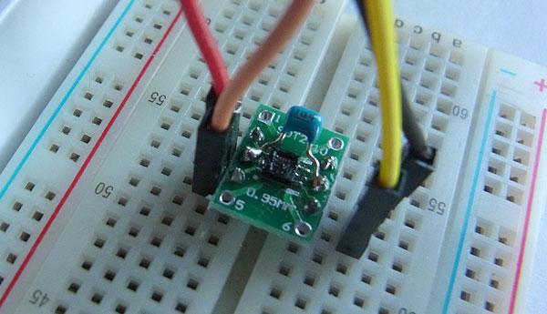 Raspberry Pi 3とSHT21との接続