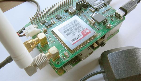 3Gpiを使ったGPSデータの入力