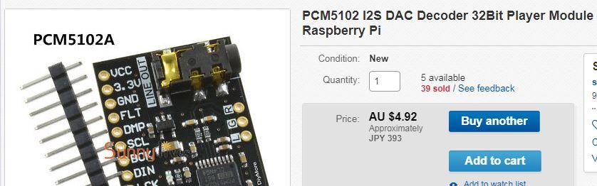 PCM5102 DAC Decoder