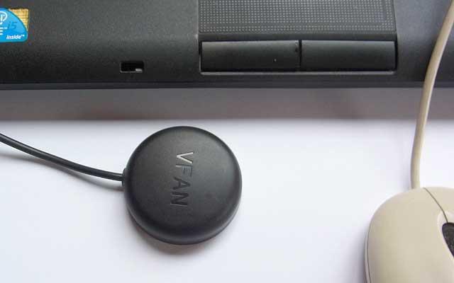 ThinkPad T410とGPS レシーバーの接続