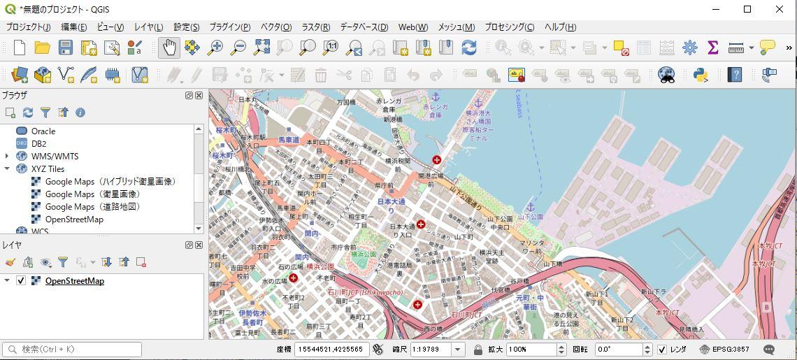 横浜市のみらい地区